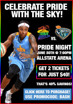 Pride Night with the Chicago Sky!